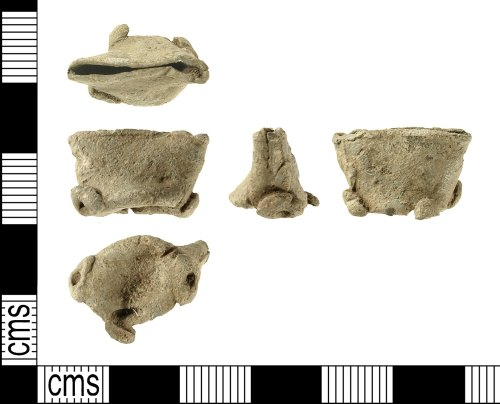 IOW-75D806: Post-Medieval Powder Measure Cap