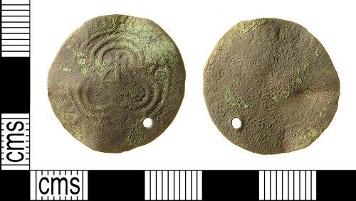 IOW-DB0E81: Post-Medieval Nuremburg Jetton