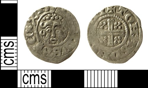 IOW-362E85: Medieval Coin: Penny of Henry III
