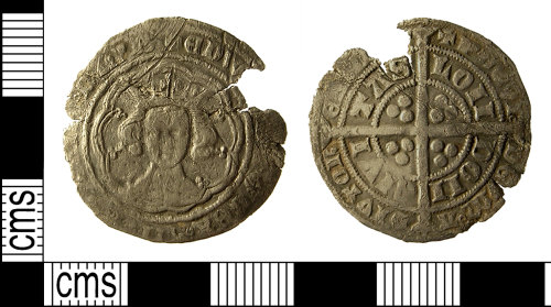 IOW-9B0138: Medieval Coin: Groat of Edward III