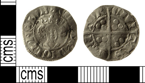 IOW-091433: Medieval Coin: Penny of Edward II