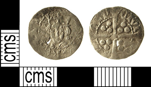 IOW-7F36A4: Medieval Coin: Penny of Edward IV