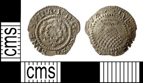IOW-8E4602: Post-Medieval Coin: Penny of James I