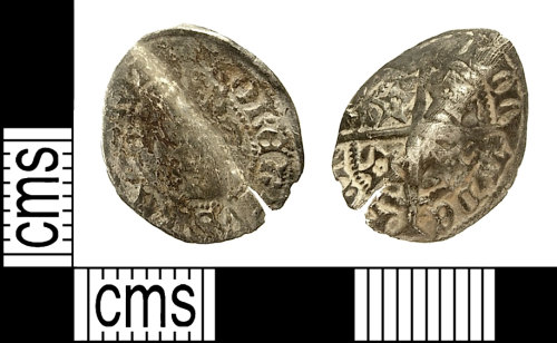 IOW-F04394: IOW-F04394 Medieval Coin: Penny of Robert II of Scotland