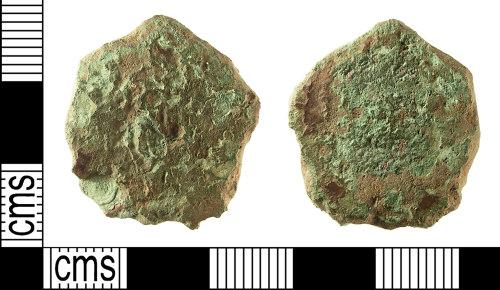 IOW-04F714: IOW-04F714 Roman Coin: Sestertius (probably)