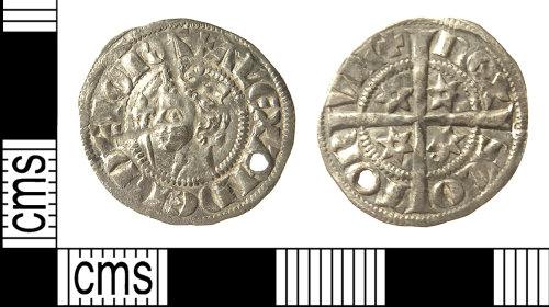 IOW-F7DD36: IOW-F7DD36 Medieval Coin: Penny of Alexander III of Scotland