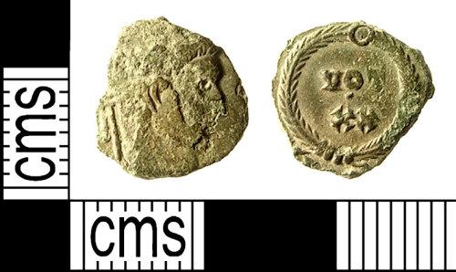 IOW-C71FE1: IOW-C71FE1 Roman Coin: Nummus of Constantine I