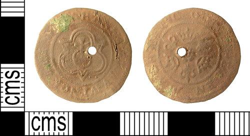 IOW-E25873: IOW-E25873 Post-Medieval Nuremberg Jetton of Hans Krauwinckel II