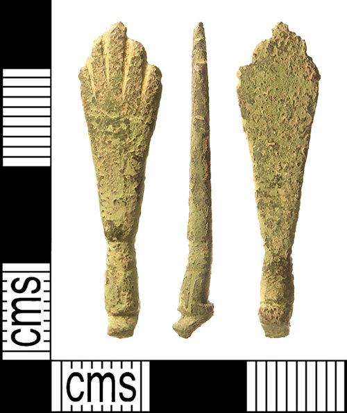 IOW-EC2955: Post-Medieval Tongs