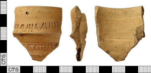 IOW-A5B924: IOW-A5B924 Post-Medieval Ceramic Vessel (Frenchen Ware)