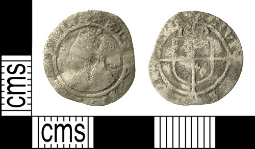 IOW-2796D7: IOW-2796D7 Post-Medieval Coin: Three-halfpence of Elizabeth I