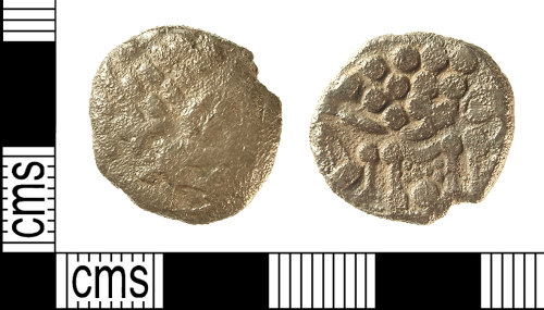IOW-BD86B4: IOW-BD86B4 Iron Age Coin: Uninscribed South-Western Stater of the Durotriges