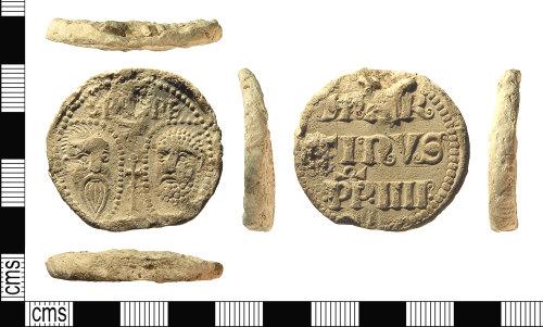 IOW-5C6967: IOW-5C6967 Medieval Papal Bulla of Pope Martin IV