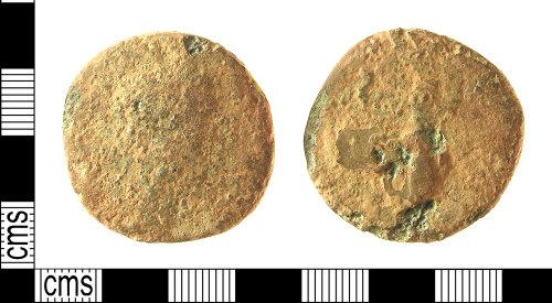 IOW-6BDC52: IOW-6BDC52 Roman Coin: Sestertius, possibly of Marcus Aurelius