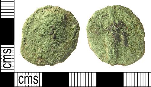 IOW-2B6866: IOW-2B6866 Roman Coin: As of Faustina II