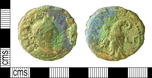 IOW-4C0444: Greek and Roman Provincial Coin: Tetradrachm of Carinus