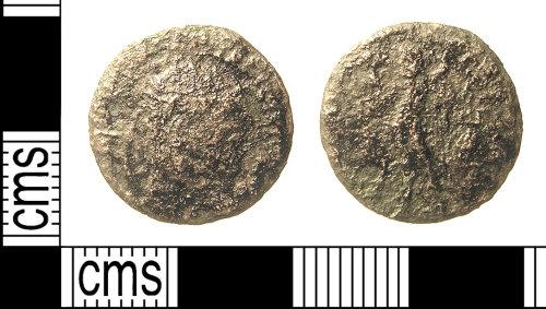 IOW-E32527: IOW-E32527 Roman Coin: Nummus, probably of Licinius I