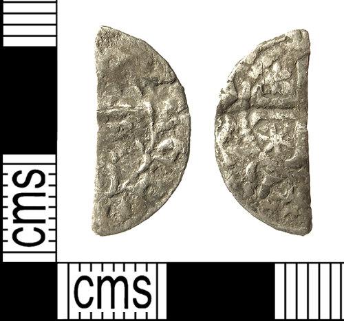 IOW-E3AE91: IOW-E3AE91 Medieval Coin: Cut Halfpenny of William I of Scotland