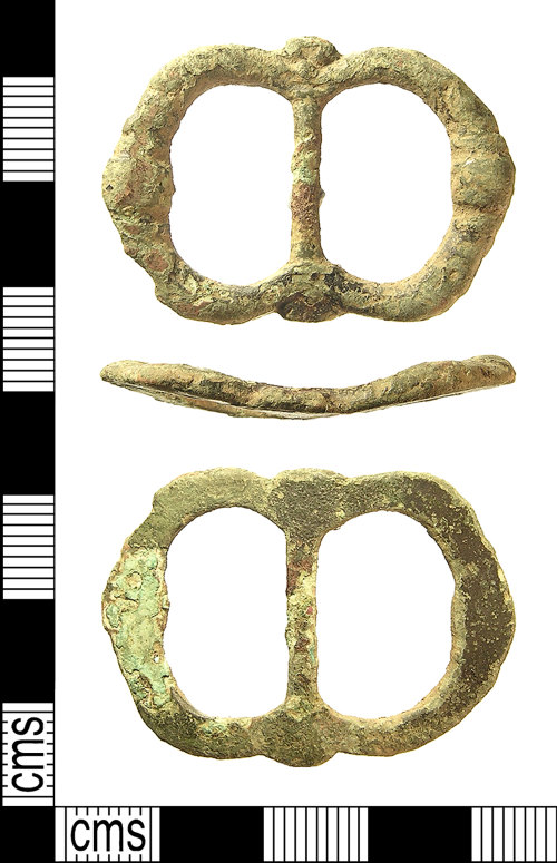 IOW-162864: IOW-162864 Post-Medieval Buckle