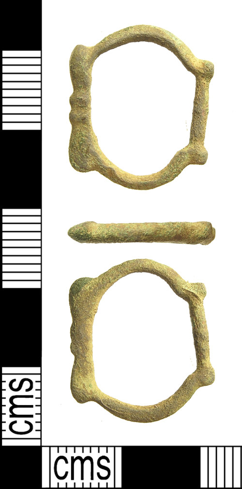 IOW-9732F3: IOW-9732F3 Medieval Buckle