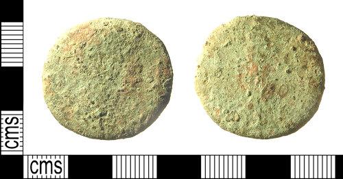 IOW-2894B6: IOW-2894B6 Roman Coin: Sestertius (illegible)