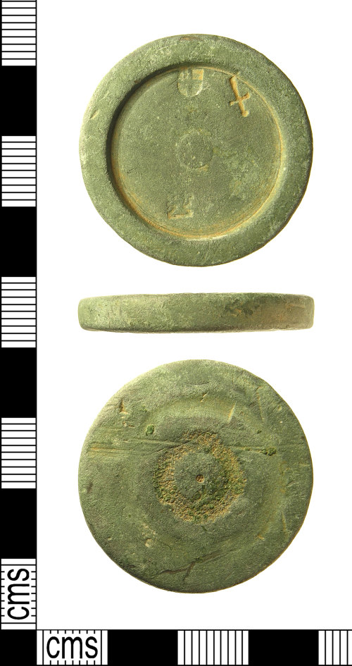 IOW-475B02: IOW-475B02 Post-Medieval to Modern Trade Weight