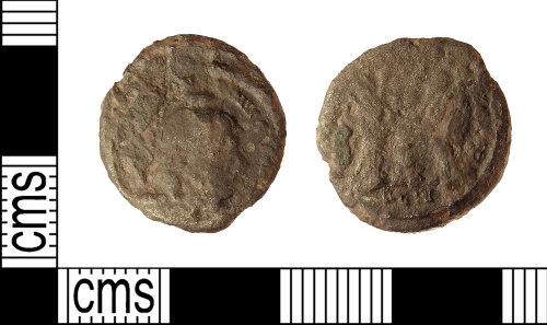 IOW-E74235: Roman Coin: Nummus of Constantine I