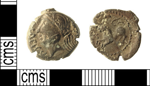 IOW-5C0154: IOW-5C0154 Iron Age Coin (possibly)