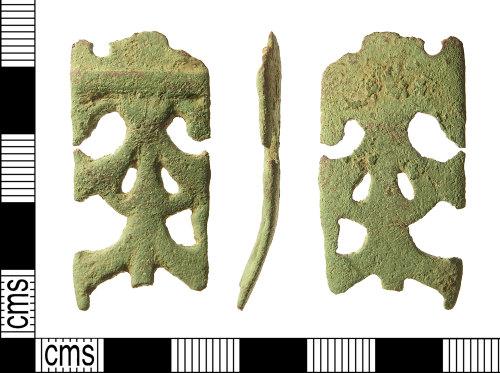 IOW-226B7E: Early-Medieval (Anglo-Saxon) Strap-end