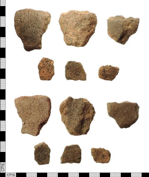 IOW-87360E: Roman Vectis Ware Body Sherds