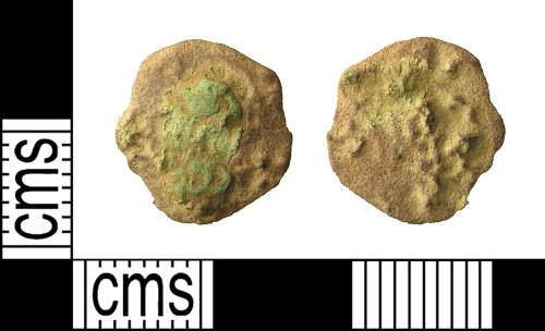 IOW-B86095: Roman Coin: Radiate or Nummus