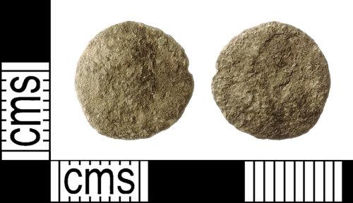 IOW-F44056: Roman Coin: Barbarous Radiate (copying uncertain emperor)