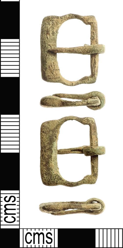 IOW-E4CE87: Medieval Buckle