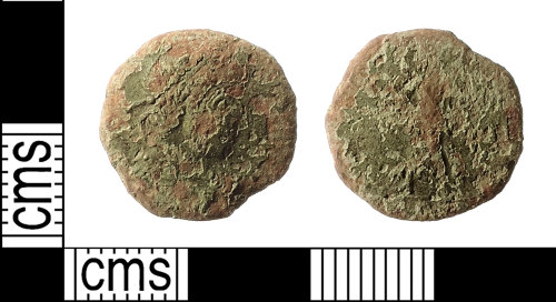 IOW-812B19: Roman Coin: Nummus of the House of Valentinian