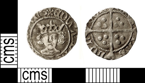 IOW-63C7DC: Medieval Coin: Penny of Edward IV