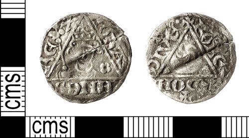 IOW-3C5531: Medieval Coin: Irish Penny of John