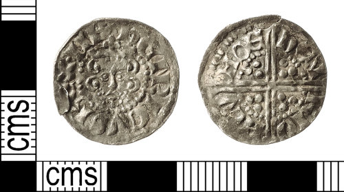 IOW-F37D6C: Medieval Coin: Penny of Henry III