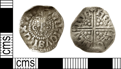 IOW-620D11: Medieval Coin: Penny of Henry III