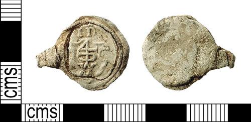IOW-6E83FE: Post-Medieval Cloth Seal
