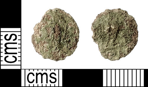 IOW-0DEAE8: Roman Coin: Nummus, probably of the House of Valentinian