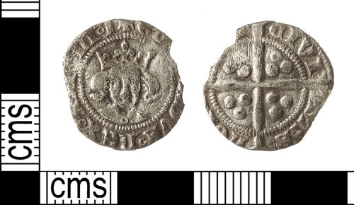 IOW-23893A: Medieval Coin: Penny of Edward III