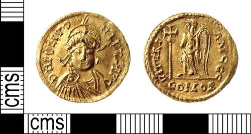 IOW-51C398: Roman Coin: Solidus of Julius Nepos