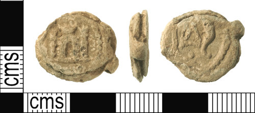 IOW-C15879: Post-Medieval Cloth Seal