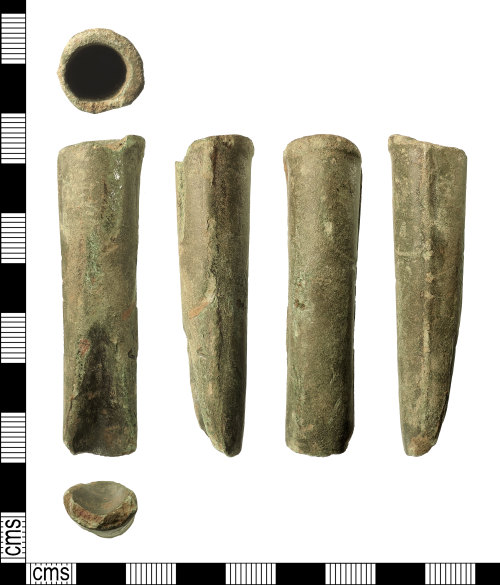 IOW-7B755D: Late Bronze Age Gouge