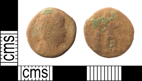 IOW-3DE07C: Roman Coin: Nummus of the House of Valentinian