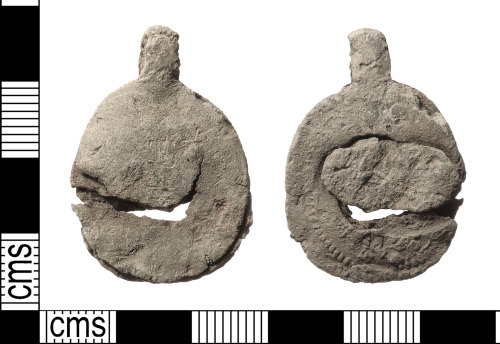 IOW-1F7A31: Medieval to Post-Medieval Cloth Seal