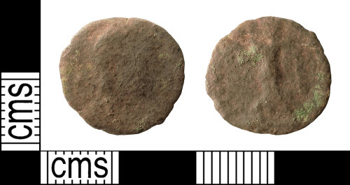 IOW-4E18D5: Roman Coin: Nummus of the House of Valentinian
