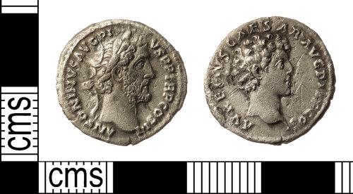 IOW-B96B57: Roman Coin: Denarius of Antoninus Pius