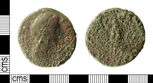 IOW-62D644: Roman Coin: Sestertius