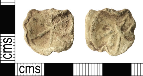 A resized image of Post-Medieval Lead Token